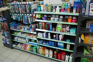 Convenience store - Personal care products at a FamilyMart convenience store