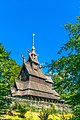Fantoft Stave Church view from corner angle.jpg