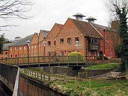 The Maltings Creative Arts Centre On River Wey And Bridge Square Farnham