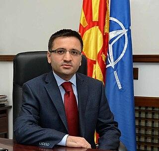 Fatmir Besimi Macedonian politician