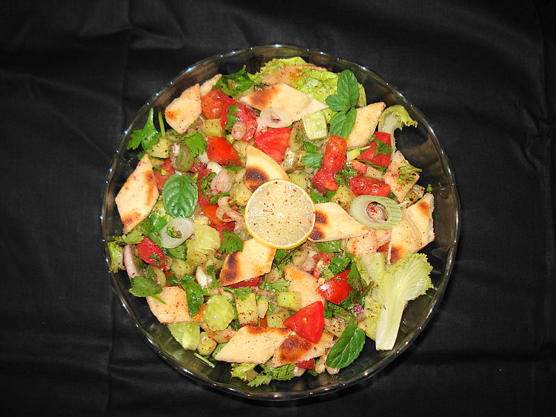 Fattoush. From Top 10 Things to Eat in Jordan