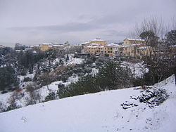 Fauglia under snow