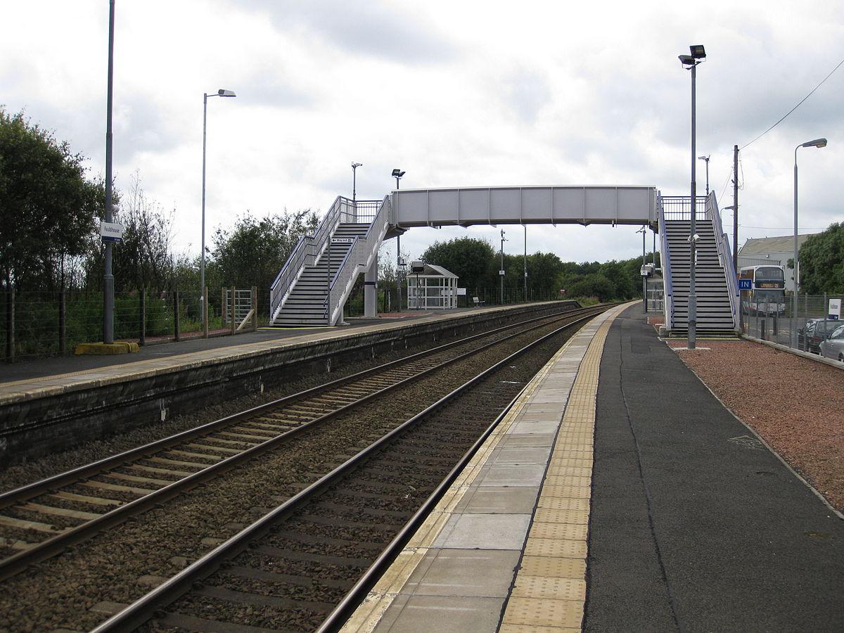 Gartcosh train station