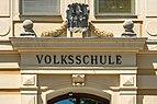 Feldkirchen Schulhausgasse 1 Volksschule Portal Supraporte 06062019 7141.jpg
