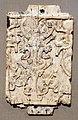 Fenici, placca decorativa in avorio, 900-800 ac ca., da nimrud, sfingi a testa di toro presso un albero sacro.jpg