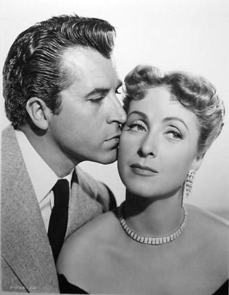 Fernando Lamas - Lamas with co-star Danielle Darrieux in Rich, Young and Pretty.