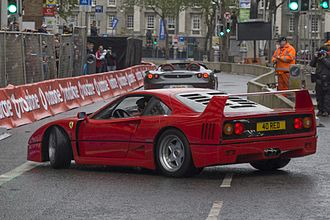Ferrari F40 - Ferrari F40 (rear view)