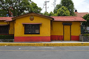 Magdalena Contreras - Old station of the Mexico City-Cuernavaca line