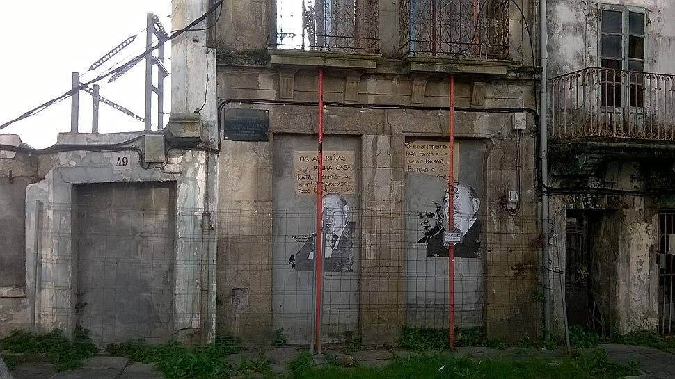 Ferrol 01-01, casa natal de Carballo Calero