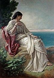 «Ιφιγένεια». Ζωγραφικός πίνακας (1862) του Anselm Feuerbach.