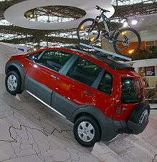 Fiat idea wikip dia for Paragolpe delantero fiat idea adventure