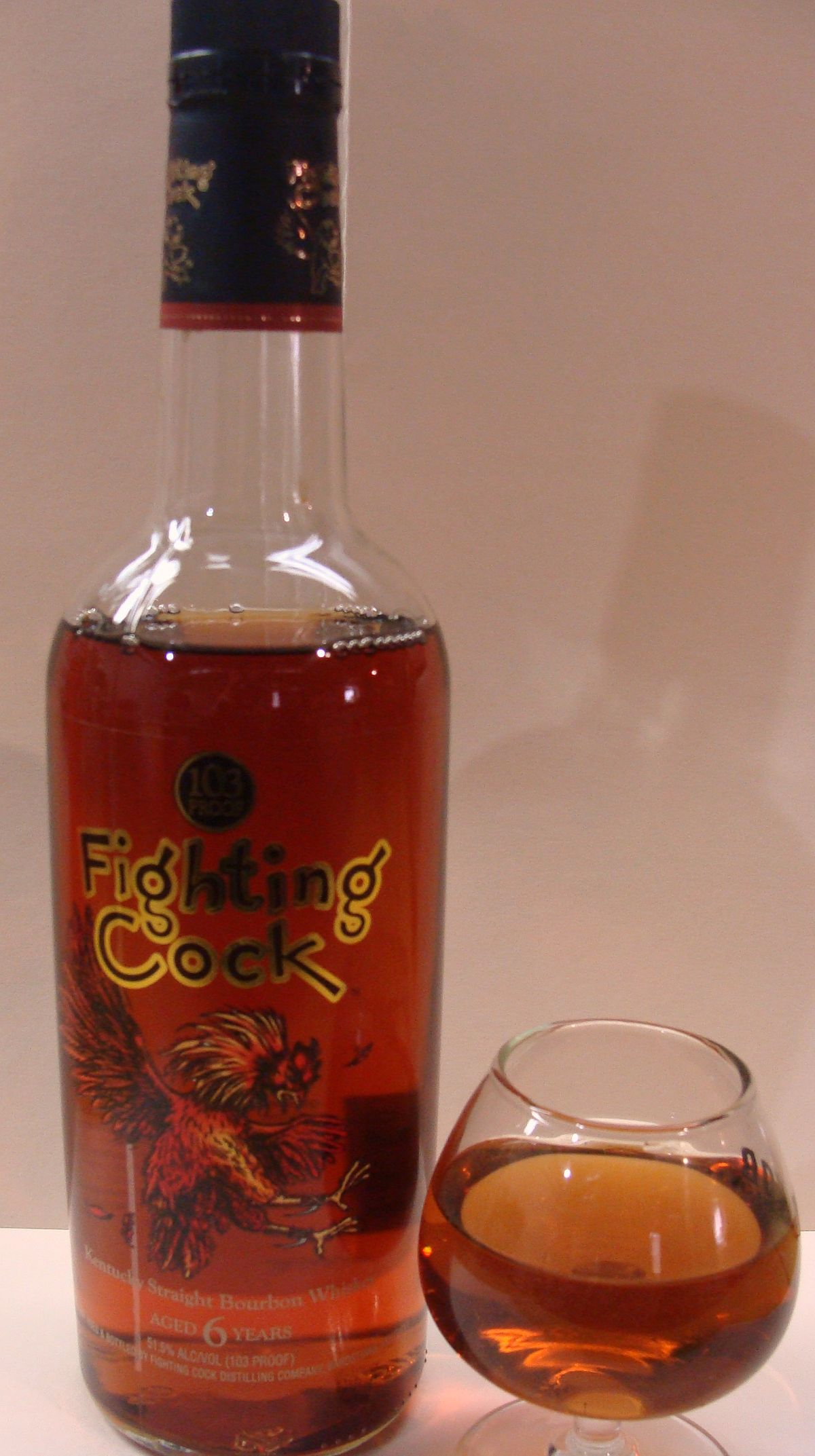 Fighting Cock Bourbon Wikipedia