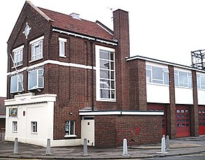 Hadleigh, Essex - Image: Fire Station , Hadleigh geograph.org.uk 333652