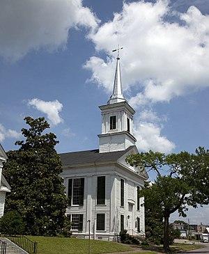 First Presbyterian Church (Eutaw, Alabama) - First Presbyterian Church in 2010