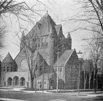Ecumenical Theological Seminary - Image: First Presbyterian Church Detroit MI 1899