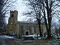 First Snow over St Mary's, 2010.jpg