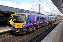 First TransPennine Express Class 185, 185108, Wigan North Western railway station (geograph 4499932).jpg