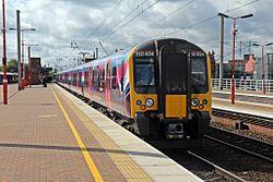 First TransPennine Express Class 350, 350404, Wigan North Western railway station (geograph 4500043).jpg