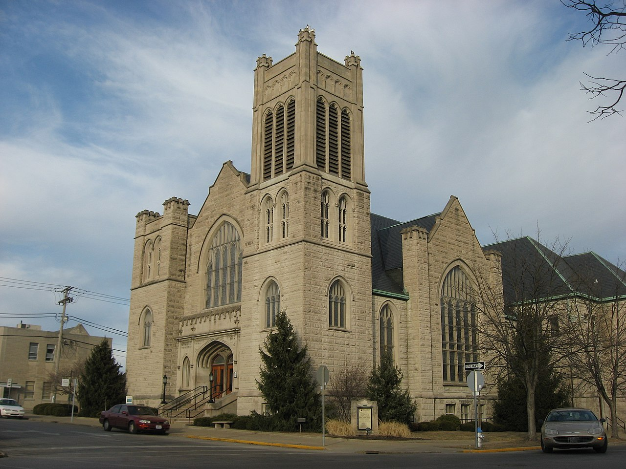 Bloomington (IN) United States  city photos gallery : First United Methodist Church in Bloomington Wikipedia, the ...