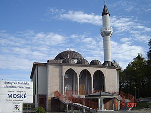 Fittja Mosque - Fittja Mosque in May 2007