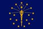 Flag of Indiana (October 21, 1917)