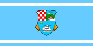 Kastav - Image: Flag of Primorje Gorski Kotar County
