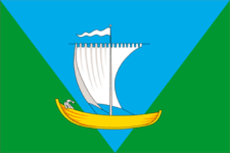 Primorsky District, Arkhangelsk Oblast - Image: Flag of Primorsky rayon (Arkhangelsk oblast)