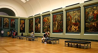 Marie de Medici cycle series of twenty-four paintings by Peter Paul Rubens commissioned by Marie de Medici