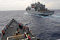 Flickr - Official U.S. Navy Imagery - USNS Sacagawea replenishes USS Underwood..jpg