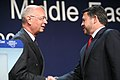 Flickr - World Economic Forum - Klaus Schwab, King Abdullah - World Economic Forum on the Middle East Dead Sea Jordan 2007.jpg