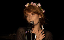 Florence Welch of Florence and the Machine performing at Coke Live 2013 in Kraków, Poland.jpg