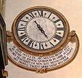 Florenz - Santa Maria Novella, Uhr.JPG