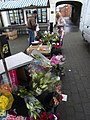 Flower Stall, Brigg Market - geograph.org.uk - 1725889.jpg