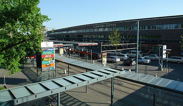 Bremen Airport (Car Rental Signs)