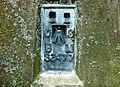 Flush bracket on Stoke Hill trigpoint - geograph.org.uk - 880182.jpg