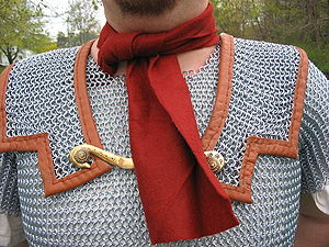 Focale - Focale on a Roman military reenactor
