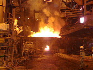 Mining in Iran - Mobarakeh Steel Mill in Isfahan is Iran's largest steel mill.