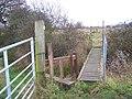 Footbridge into Higham Marshes - geograph.org.uk - 1084581.jpg