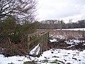 Footbridge near Old Halden - geograph.org.uk - 1711550.jpg