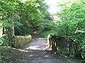 Footbridge over Halgut Burn - geograph.org.uk - 843578.jpg
