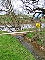 Footbridge over brook - geograph.org.uk - 783794.jpg