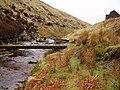 Footbridge over the River Ashop - geograph.org.uk - 155860.jpg