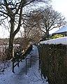 Footpath - Street Lane - geograph.org.uk - 1152086.jpg