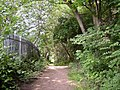 Footpath at Wood End, Salford, Almondbury - geograph.org.uk - 187305.jpg