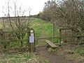 Footpath off Stoke Lane - geograph.org.uk - 1760352.jpg