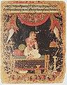 Forlorn Heroine (Proshitapriyatama), Nayika Painting Appended to a Ragamala (Garland of Melodies) LACMA M.73.2.4.jpg