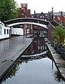 Former canal stop lock by Gas Street Basin, Birmingham - geograph.org.uk - 965026.jpg