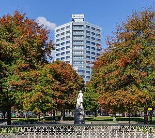 Victoria Square, Christchurch square in central Christchurch, New Zealand