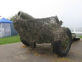 Fort Howe - Image: Fort Howe Artillery WWII Era