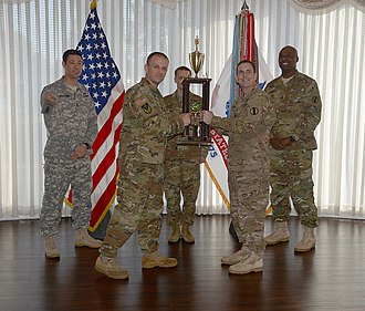 Brigadier General David H. Stem Award - The 217th Military Police Detachment receives the David H. Stem Award in 2015